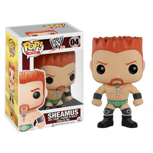 POP WWE Sheamus Funko POP (Damaged 7/10)