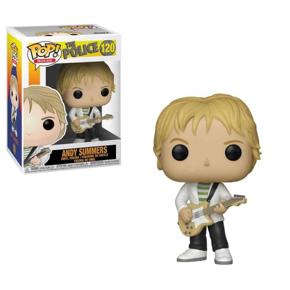 POP Rocks The Police Andy Summers Funko POP