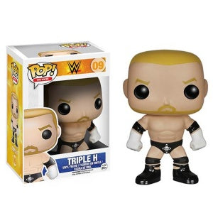 POP WWE Triple H Funko POP (Damaged 9/10)