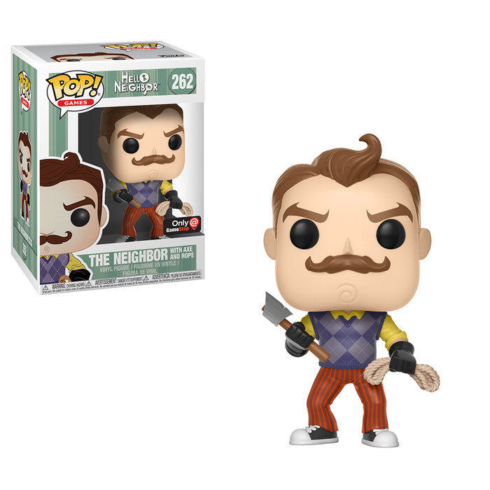 POP! Games - Hello Neighbor - Neighbor with Axe and Rope