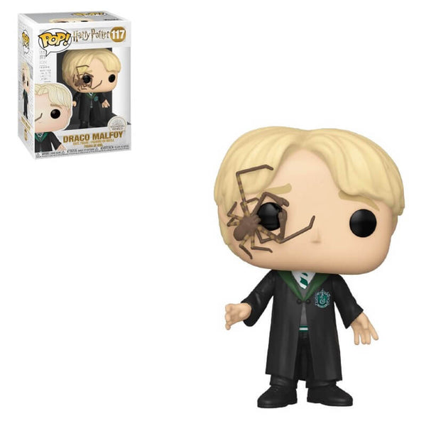 POP! Harry Potter Harry Malfoy with Whip Spider Funko POP - State of Comics