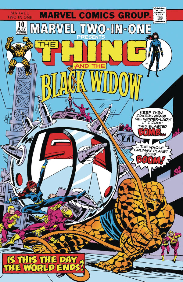True Believers Black Widow & The Thing #1 - State of Comics