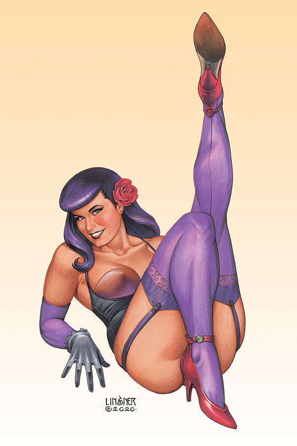 Bettie Page #3 Cvr C Linsner - State of Comics