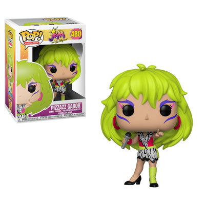 POP Animation Jem and the Holograms Pizzazz Gabor Funko POP