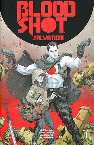 Bloodshot Salvation #1 2nd Printing
