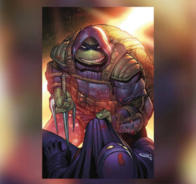 TMNT The Last Ronin #3 (of 5) Sajad Shah Exclusive Virgin Cover