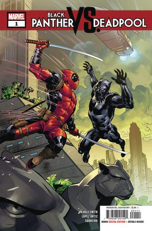 Black Panther VS Deadpool #1
