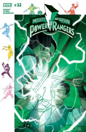 Mighty Morphin Power Rangers #32