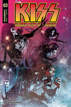 Kiss Blood and Stardust #3