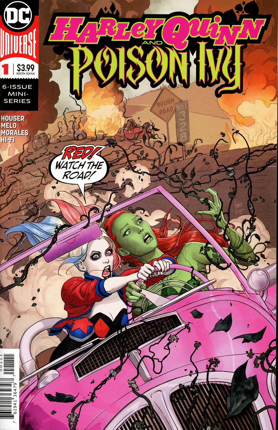 Harley Quinn & Poison Ivy #1 (of 6)