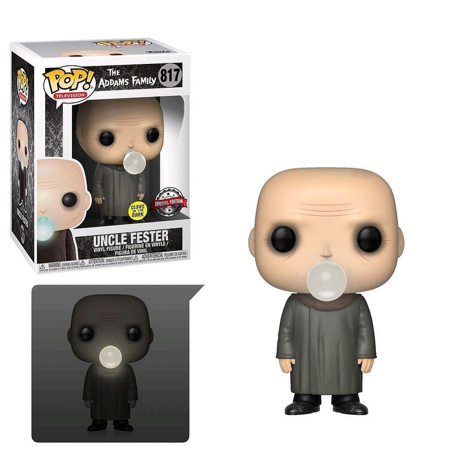 POP Television The Addams Family Uncle Fester Light Bulb Funko POP