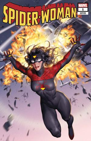 Spider-Woman #1 Yoon New Costume Var