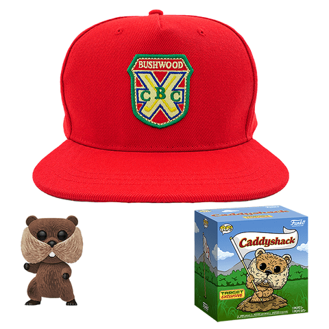 POP! Movies Caddyshack Gopher & Hat Bundle