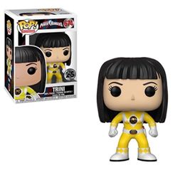 Funko POP Mighty Morphin Power Rangers Yellow Ranger Unmasked