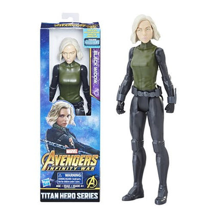 Avengers: Infinity War Titan Hero Series Black Widow with Titan Hero Power FX Port 12-Inch Action Figure - State of Comics