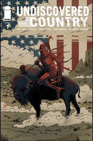 Undiscovered Country #1 Joseph Schmalke Exclusive