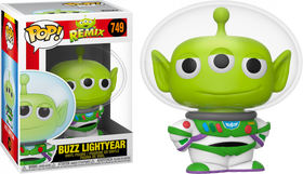 POP! Disney Aliens Remix Buzz Lightyear Funko POP