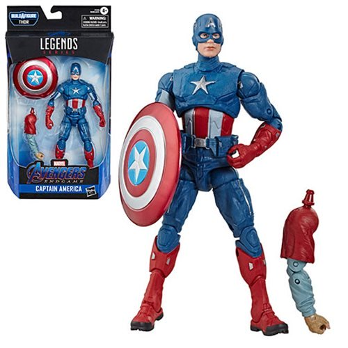 Avengers Marvel Legends 6-Inch Captain America Action Figure - State of Comics