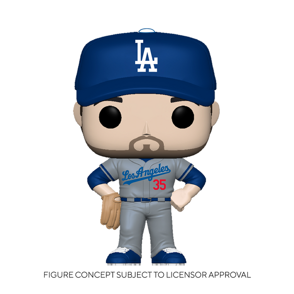 POP MLB Dodgers Cody Bellinger (Road Uniform) Vinyl Figure - State of Comics