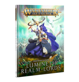 Warhammer Age of Sigmar Battletome Lumineth Realm-lords