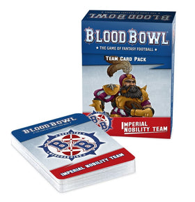 Blood Bowl Imperial Nobility Team Card Pack