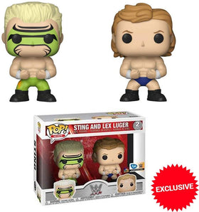 Funko Pop! WWE: Sting and Lex Luger 2 Pack - FYE Exclusive