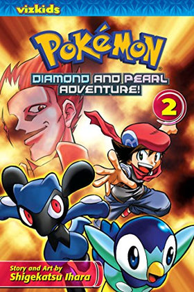 Pokemon Diamond and Pearl Adventure GN Vol 02