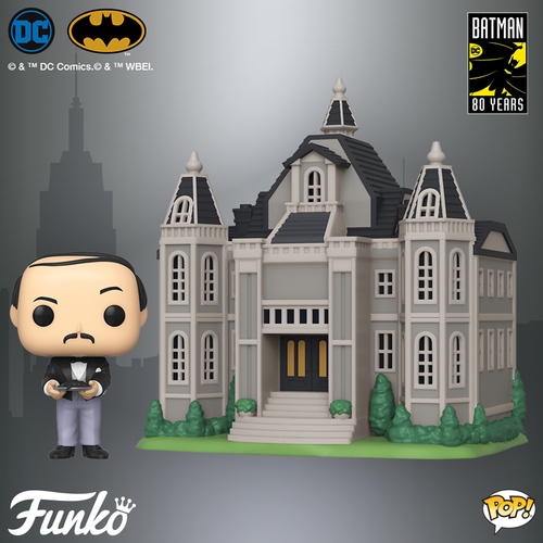 POP! Town DC Heroes Wayne Manor with Alfred Funko POP - State of Comics