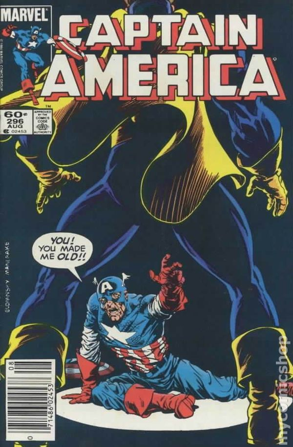 Captain America #296 - State of Comics