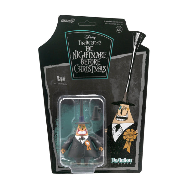 Nightmare Before Christmas Mayor ReAction Figure - State of Comics