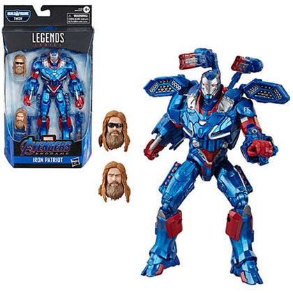 Avengers Marvel Legends 6-Inch Iron Patriot Action Figure - State of Comics