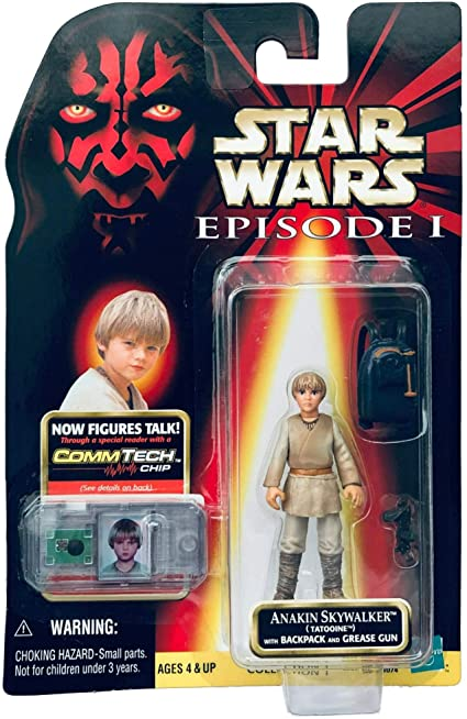 Star Wars Episode I Anakin Skywalker (Tatooine) 3.75 In. Action Figure - State of Comics