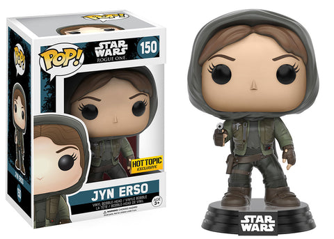 POP! Star Wars Jyn Erso Funko POP (Damaged 9/10)