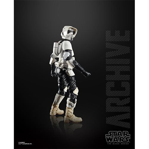 Star Wars The Black Series Archive Biker Scout 6-Inch Action Figure