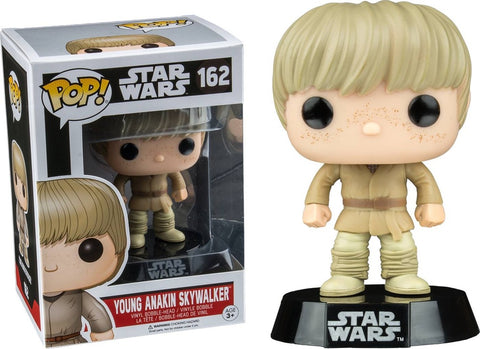 POP! Star Wars Young Anakin Skywalker Funko POP (Damaged 9/10)