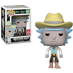 Funko POP! Rick and Morty Western Rick Summer Convention Exclusive