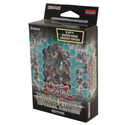 Yu-Gi-Oh Savage Strike Special Edition (3 boosters & 2 foils)