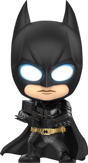 Cosbaby Batman with Sticky Bomb Gun