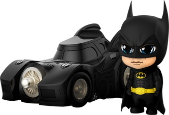 Cosbaby Batman with Batmobile