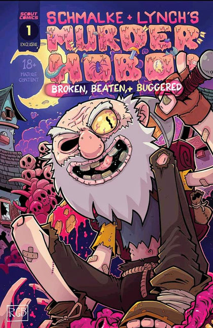 Murder Hobo #1 CE & CBNM Exclusive Cover LMTD 300