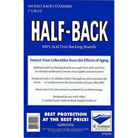 Half Backs Standard (100 Pack)