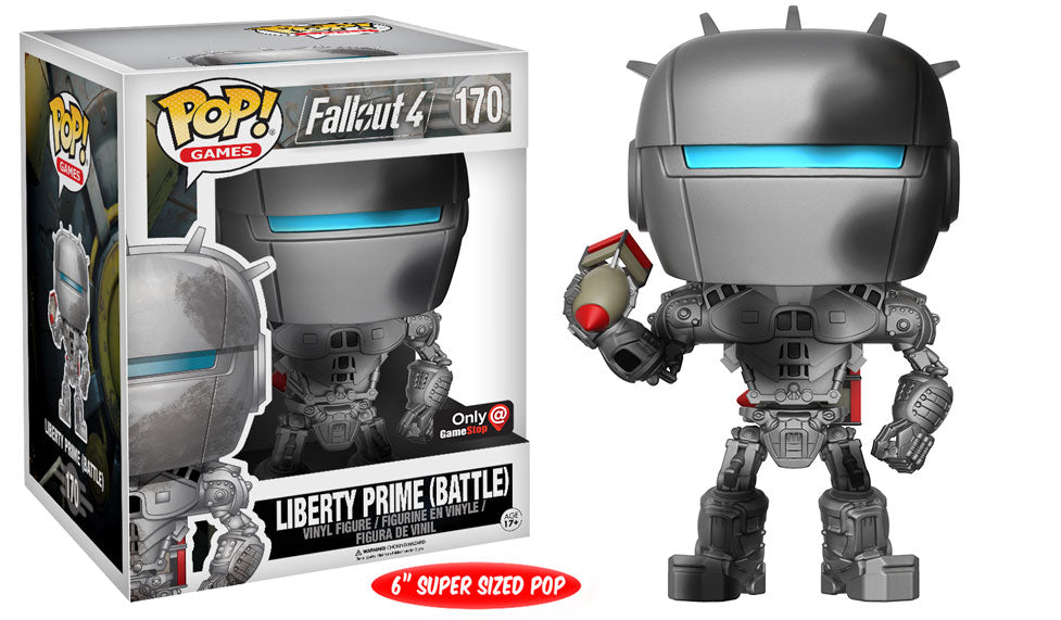 POP! - Games - Fallout - Liberty Prime (Battle)
