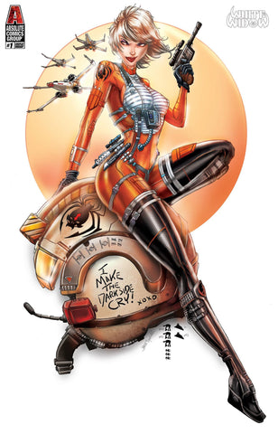 White Widow #1 May the 4th X-Wing Exclusive Variant