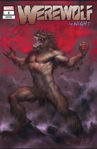 Werewolf By Night #1 Parillo Exclusive Trade Dress