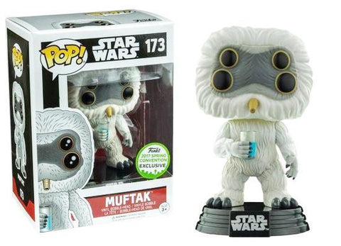 POP Star Wars Muftak POP (Damaged 7/10)