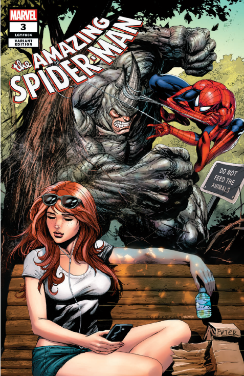 Amazing Spider-Man #3 Kirkham Trade Dress Exclusive - State of Comics