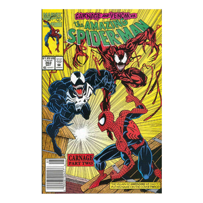 The Amazing Spider-Man 362 - Fine