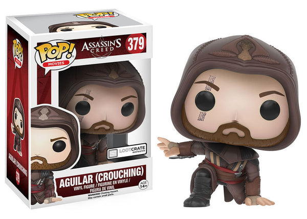 POP! Movies Assassin's Creed Aguilar Crouching (Box Damage 9/10) - State of Comics