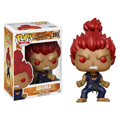 POP! Games - Street Fighter - Akuma