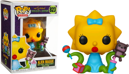 POP! Animation Simpsons Treehouse of Horror Alien Maggie Funko POP
